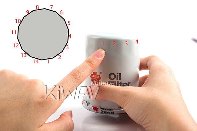 how to count how many flutes of your oil filter - from KiWAV
