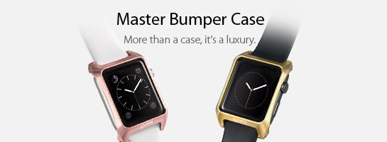 KiWAV Gadget Apple Watch Master Bumper Cases.