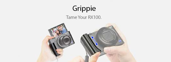 KiWAV Gadget Grippie Camera Hand Grip.