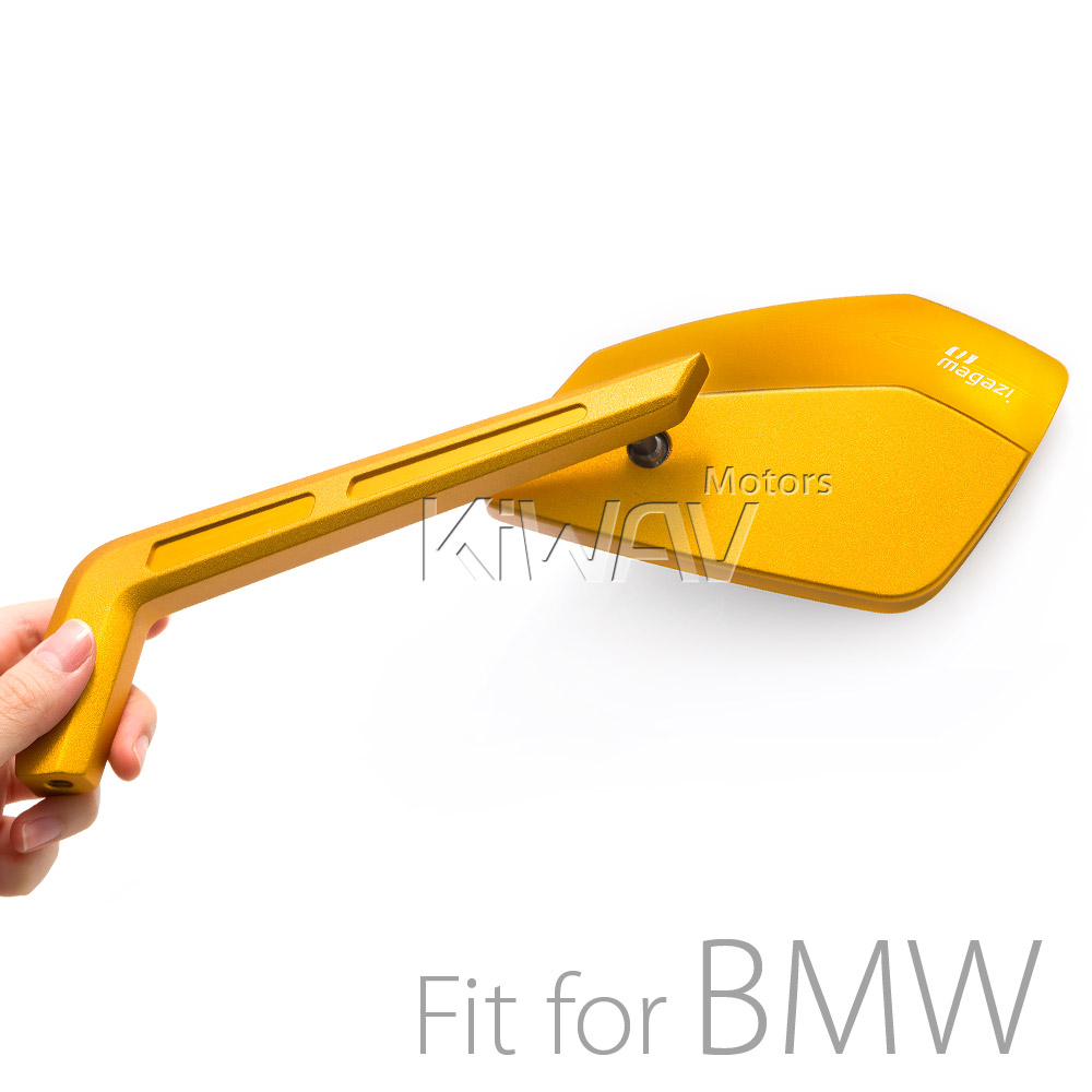 Cleaver CNC aluminum mirrors gold mirrors compatible with BMW