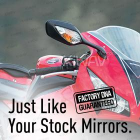 OEM quality replacement mirror FH-300 for Honda CBR1000RR right hand