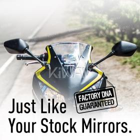 OEM quality replacement mirrors FH-982 for Honda CBR 300R 14'-16' a pair