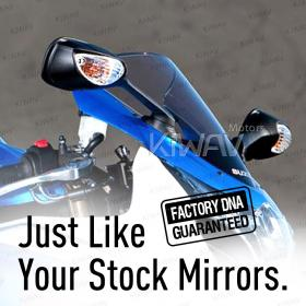 OEM quality replacement mirrors FS-146 for Suzuki GSXR a pair