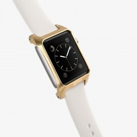VAWiK CNC aluminum 42mm Apple WATCH bumper case gold