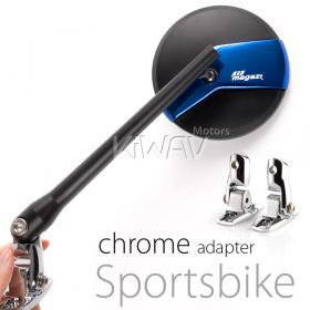 fairing mount rearview mirror, super bike, SUZUKI, KAWASAKI, YAMAHA