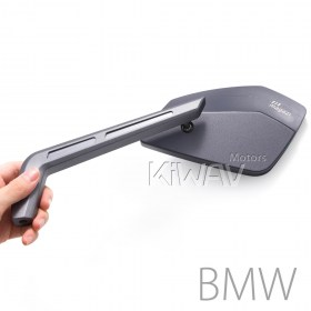 BMW, M10 x 1.5 pitch,GS 1200, F650 GS,  F800 GS,mirrors, magazi , gray