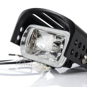 Driving fog light lamp Halogen 55W clear fit most motorcycle scooter emark