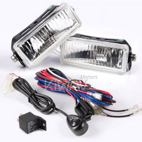Sirius NS-156 square driving Lights & Wiring Harness Set WK003